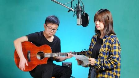 《绿色》吉他弹唱教学C调入门版 高音教