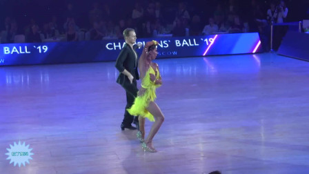 拉丁舞展示 Champions Ball 2019  Pro International Latin