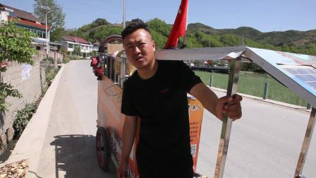 现在流行拉车去西藏吗?一上午遇到两个牛人,一个甘肃的一个山西的!