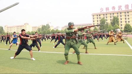 热血燃爆 《八佰》战争戏幕后曝光 少林寺武僧团加盟八百壮士?