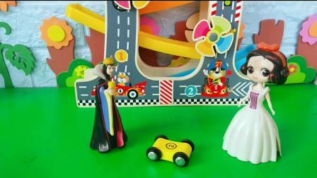 王后给小车施了魔法!故意为难白雪!