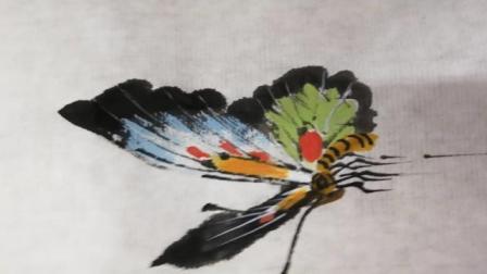 零基础学画蝴蝶(3)