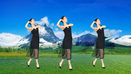 广场舞《站着等你三千年》优美动人 歌曲好听!