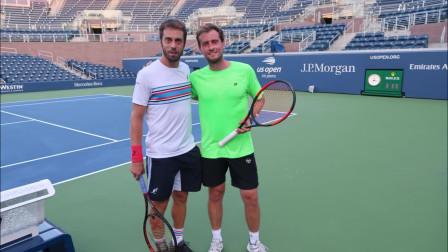 与保罗·洛伦兹一起训练准备美国公开赛,快来看训练技巧