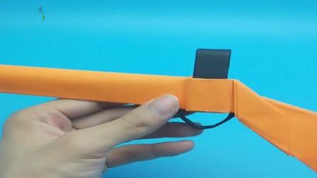手工折纸:手把手教你折98k狙击步枪
