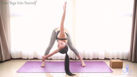 瑜伽双脚式扭转体式详解