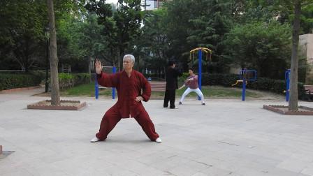 练习陈式74式太极拳