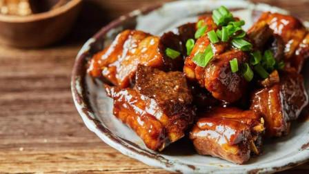 陈皮骨的正宗做法,独家秘制,酱香入味,比五星洒店大厨做的还好吃