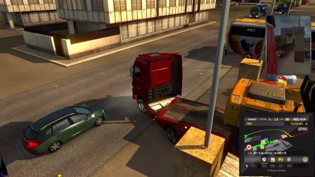 Euro Truck Simulator 2遨游中国之挖掘机运输