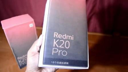 Redmi K20 Pro手机开箱上手