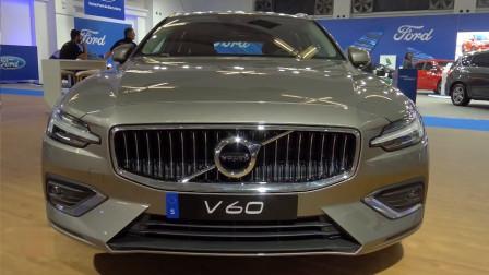 2019款沃尔沃V60 D4实拍,看到这帅气颜值,买不买做个参考!