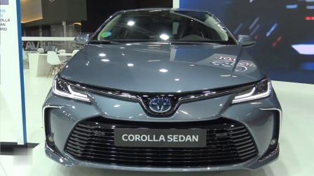2020款丰田卡罗拉混动版详拍,看到这帅气颜值,你心动了吗?