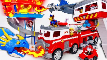 了望塔着火了~!我们需要终极救援消防车