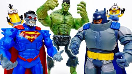 谁更强壮?蝙蝠侠对超人,力量之战