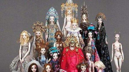 """世界上最贵的洋娃娃,号称是""""土豪们的玩具"""",到底贵在哪里?"""