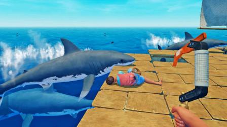 为了带走秀儿,我引来鲨鱼群,还狠心把她打晕了