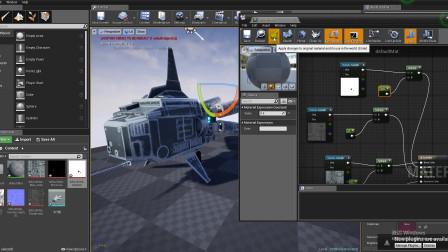 3dmax建模--第66节飞行器UE4引擎导入