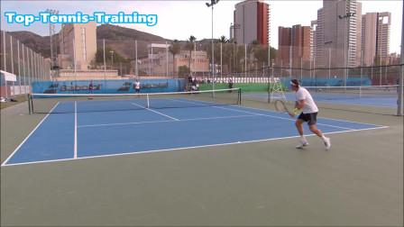 像战士一样训练的大卫·费雷尔,费雷尔网球健身过程,快来学习