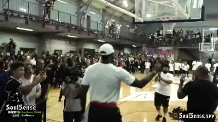NBA球星VS素人:哈登神准、杜兰特专冒小盆友、阿泰场场打架