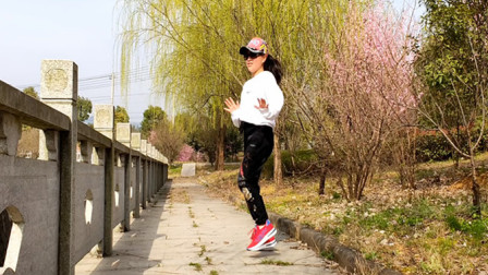 热门歌曲《九妹》纯音乐版真好听,网红9步弹跳广场舞,时尚动感
