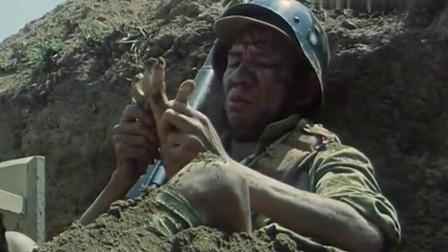 三毛从军记:战场炮火连天,断肢飞过来老鬼居然淡定抠戒指