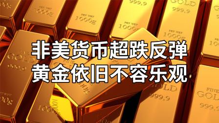 非美货币超跌反弹,黄金依旧不容乐观