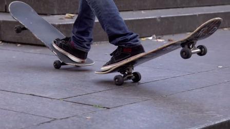 持续高能,看大神用滑板表达自我个性,成为自由的掌控者