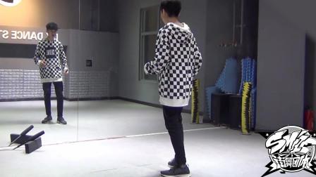 张艺兴,梦不落雨林 namanana 中文版舞蹈分解教学(七).