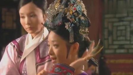 甄嬛传:华妃的头饰都是真金白银,专门找点翠师傅打造,真土豪