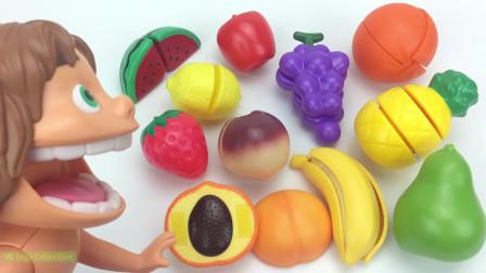 益智早教英语 烹饪大师做水果拼盘和冰镇西瓜