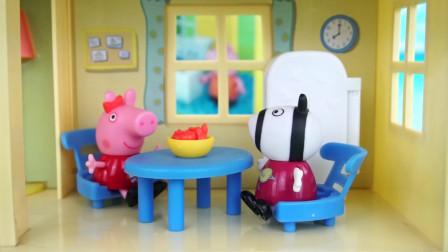 小猪佩奇的三层大房子过家家儿童玩具