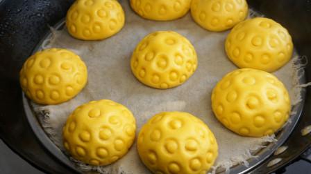 南瓜花样馒头,做法非常简单,出锅松软香甜,很养胃
