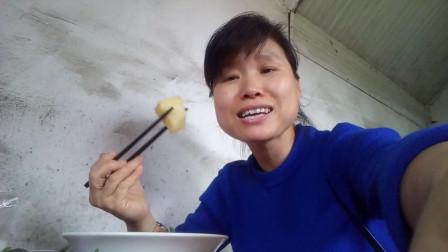 农民吃播 厨房里的吃播 生活里的快乐