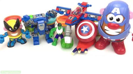 彩泥手工DIY达人亲自动手,有绿巨人和美国队长的模具