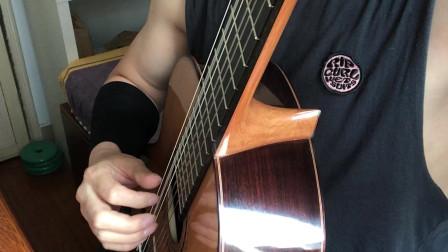 古典吉他-巴赫998 前奏 深圳吉他大叔MJ 张季