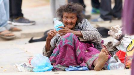 该国为减少游民数量,禁止施舍乞丐人群,违法者拘留60天罚款1万
