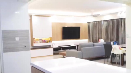 干净整洁的现代家居环境