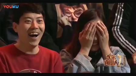 欢乐喜剧人5:贾冰的这一句话,他吓得连盘子都掉了,观众看乐了