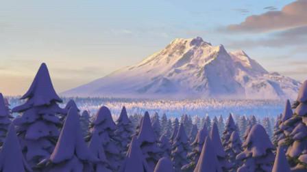 熊出没探险日记2精编版_93 雪山深处的神秘蓝光