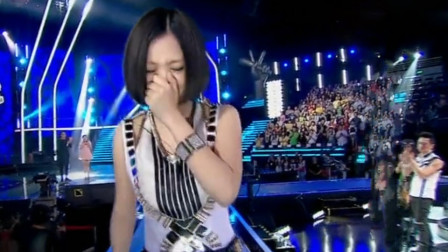 淘汰她成《好声音》最大的笑话,甩开那英哭着下台,歌迷心都碎了