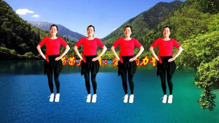 苗苗广场舞《爱情的力量》时尚网红36步,照亮我们前进的步伐!