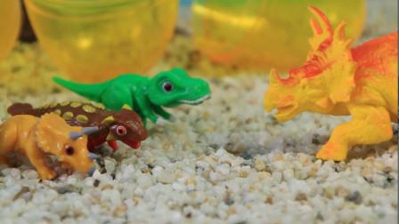 淘气的小恐龙进入禁地,然后被危险的恐龙蛋关起来了!