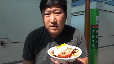 韩国吃播一家人。吃遍韩国美食,从这条美食街开始!