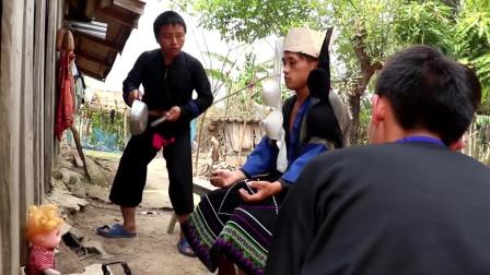苗族搞笑电影hmong tawm tshaib