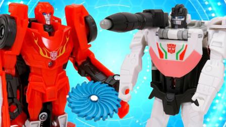 变形金刚机器人玩具 Transformers Cyberverse One Step Changers