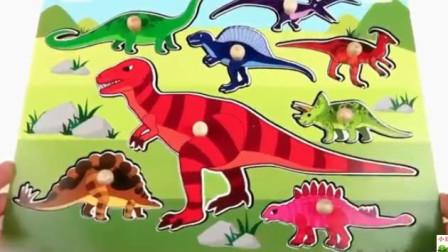 侏罗纪恐龙世界 火山爆发 霸王龙剑龙迅猛龙三角龙大逃亡