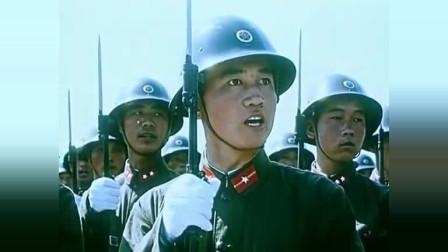 珍贵的建国十周年阅兵,这才是真正的解放军,眼里都是杀气