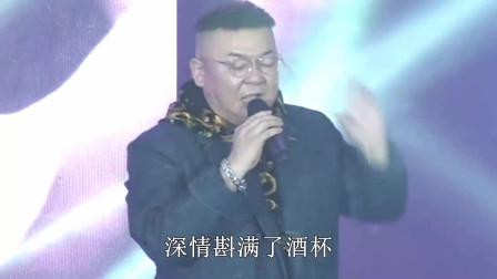 歌曲《朋友的酒》现场带字幕,演唱:李晓杰
