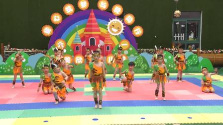 幼儿园六一演出舞蹈《印第安人》