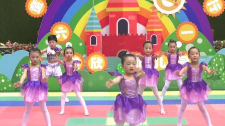幼儿园六一幼儿园舞蹈《巴啦巴啦小魔仙》